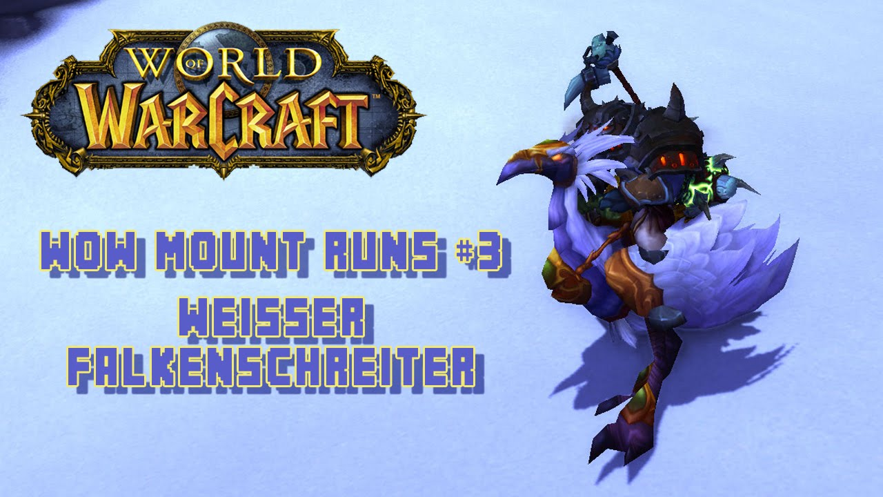 Wow Mount Guide Terrasse Der Magister Weisser Falkenschreiter Youtube