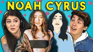 TEENS REACT TO NOAH CYRUS