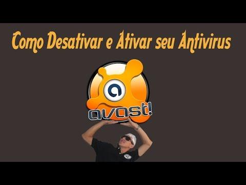 Como Desativar o Antivirus Avast e Depois Ativar Novamente: Vídeo Aula muita rápida e prática! Espero que tenham gostado Dê um joinha!!!