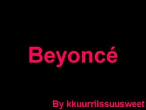 Beyoncé   Listen karaoke instrumental Live   The Beyoncé Experience