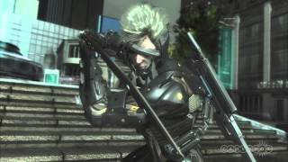Police Riot - Metal Gear Rising: Revengeance Gameplay (PS3)