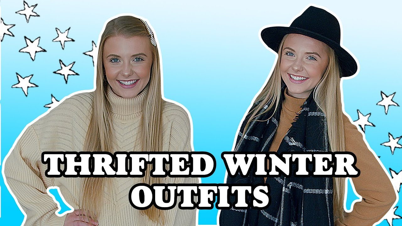 [VIDEO] - Styling Thrifted Winter Clothes || Winter Outfit Ideas 2