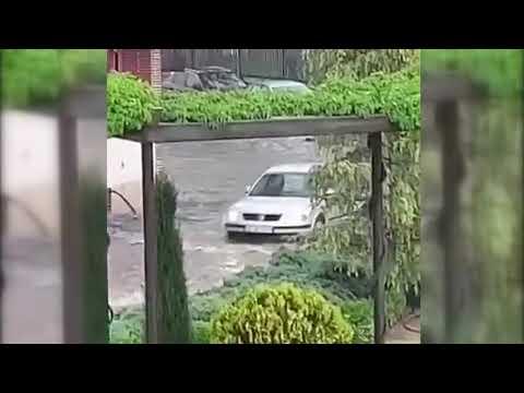 La unión de dos tormentas deja más de 20 litros en Valdepeñas y varias inundaciones