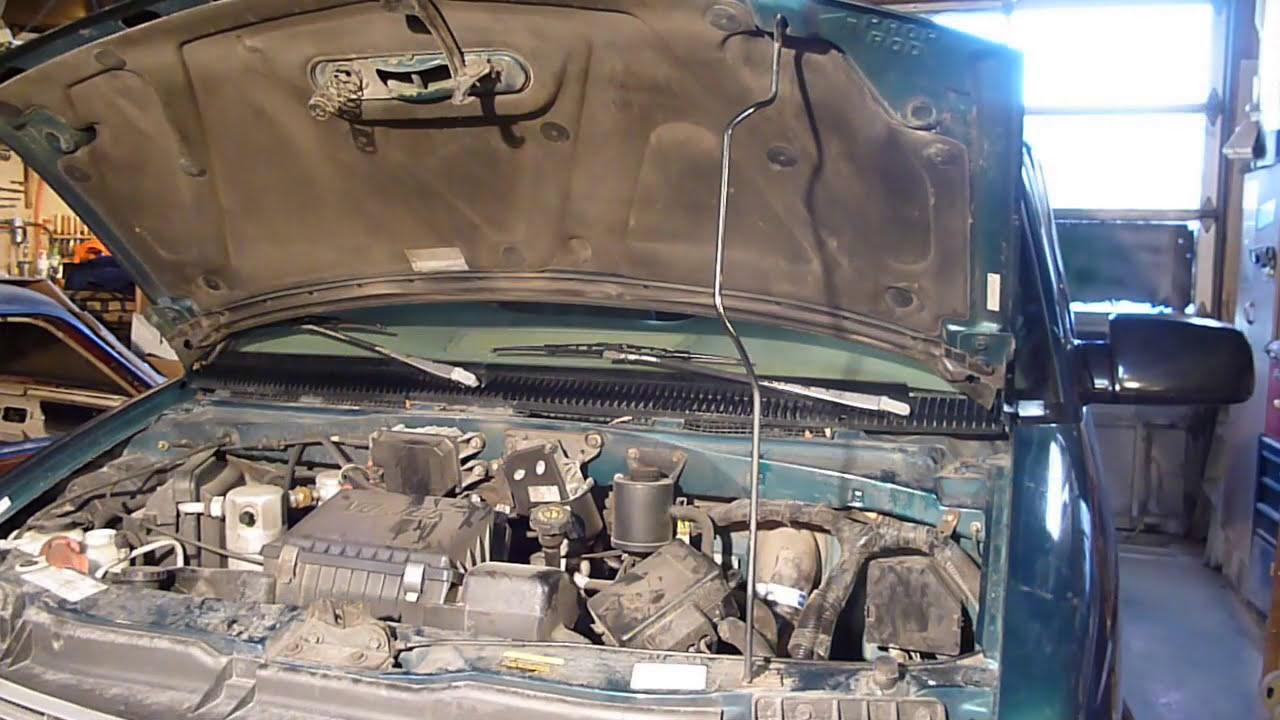 Astro Van Battery Tray Removal