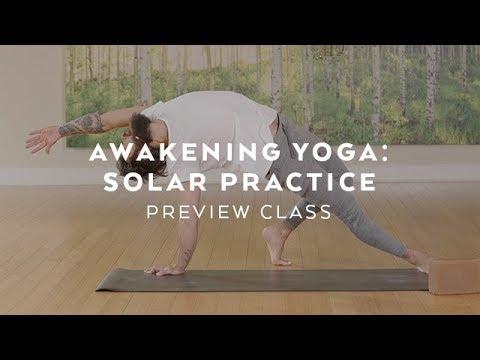 Patrick Beach's Awakening Yoga: Solar Practice