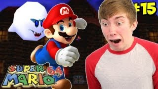 Super Mario 64 - BIG BOO'S BALCONY - Part 15