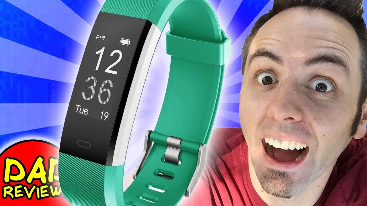 Best Cheap Fitness Tracker Letscom Fitness Tracker Watch Unboxing First Look Review Youtube