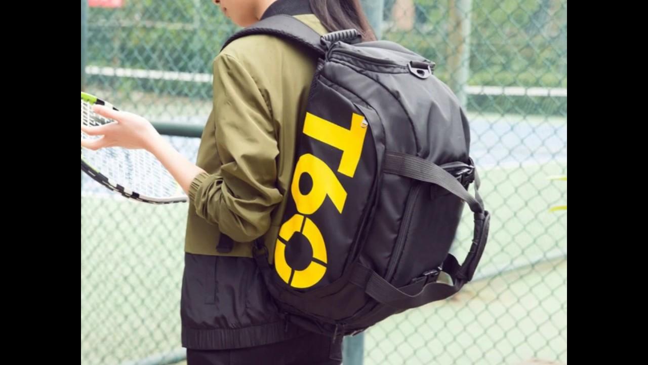 d93a35a046fd T60 3-way Sport Gym Duffel Bag - Free Worldwide Shipping - YouTube
