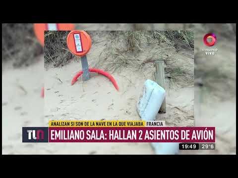 Emiliano Sala: Hallan 2 asientos de avión