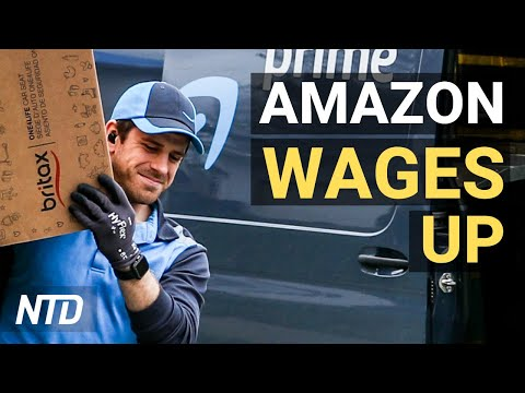 Amazon to Raise Wages For 500K Workers; Digital Currency Ethereum Hits Record High | NTD Business