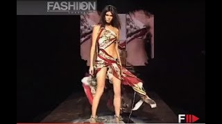 ROBERTO CAVALLI Spring Summer 2005 2 of 3 Milan - Fashion Channel