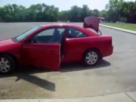 2001 Honda Civic Ex Coupe Red 2 Door Car! Subwoofers!   YouTube