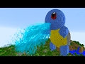 MINECRAFT vs POKEMON GO : GIGA SQUIRTLE VS REZENDEEVIL !!