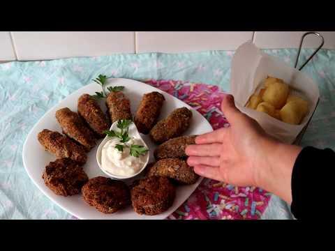 cuisine-algérienne:-kefta-farcis-au-fromage(-كفتة-محشية-بي-جبن-)---matbakh-kamar