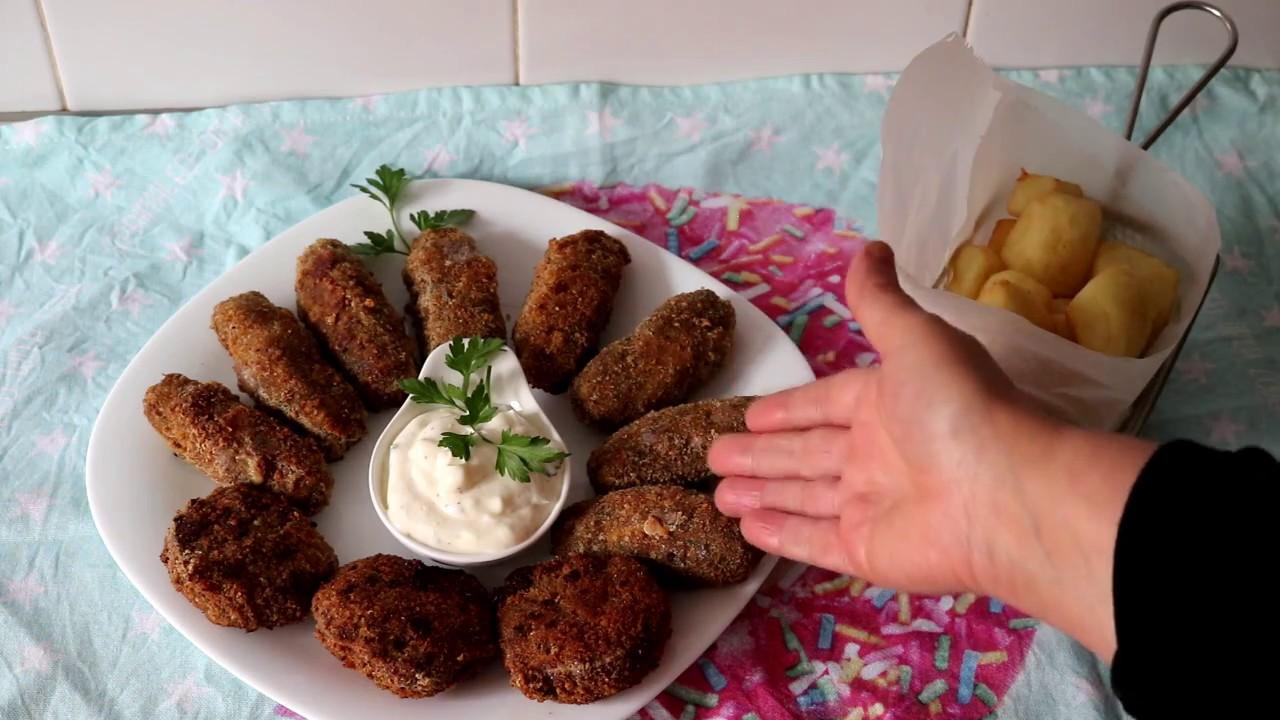 cuisine algérienne: kefta farcis au fromage( كفتة محشية بي جبن