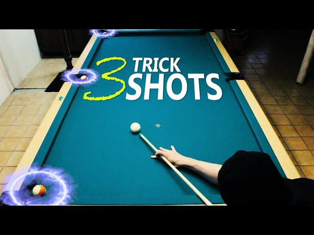 3 Pool Trick Shots: Volume 10
