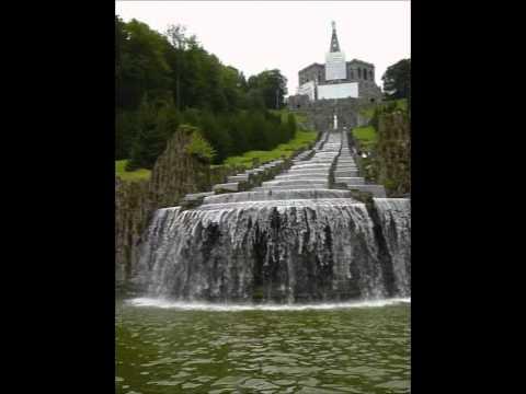 Wasserkaskaden Kassel herkules und die kaskaden auf schloss wilhelmshöhe in kassel