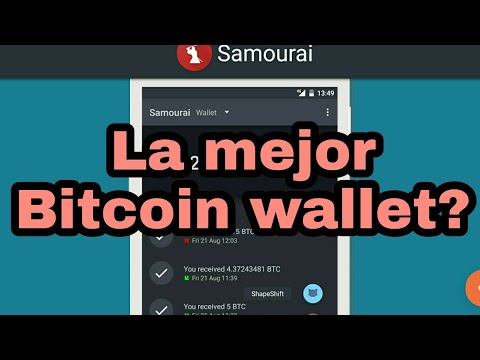 Samourai, mi Bitcoin Wallet favorita