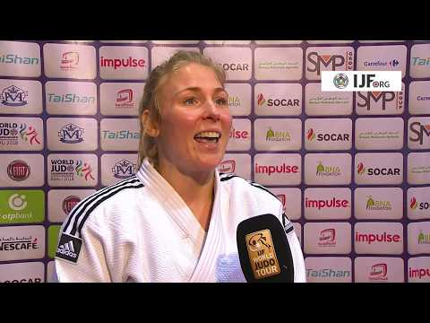 Kim POLLING (NED) -70K Winner Judo Grand Prix Tunis 18