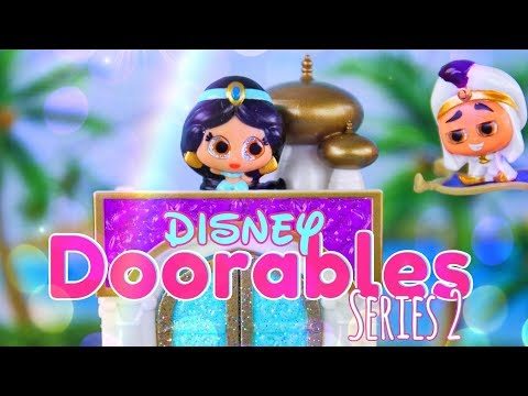 Unbox Daily:  Disney Doorables Series 2 PLUS Easy Quick Craft Display
