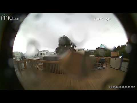 The KiddChris Show - Doorbell Cam of a Tornado Ripping a House From Its Foundation