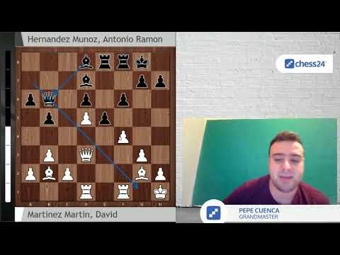 ¿La inmortal de divis? David Martinez vs Hernandez (Open de Sevilla 2018)