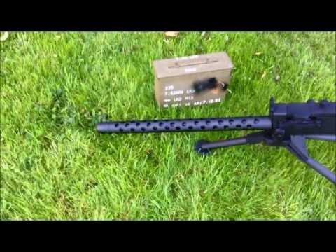 HOMEMADE M1919A4 BROWNING 30.CAL MACHINE GUN