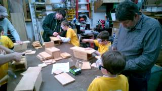 Cub Scout Pack 417 Tigers Building Bird Houses
