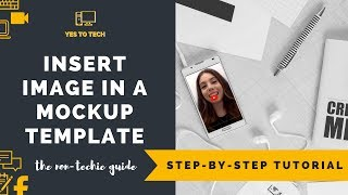 HOW TO CUSTOMIZE IPAD MOCKUP AND PERSONALIZE IPHONE MOCKUP FOR FREE - Mockup Tutorial