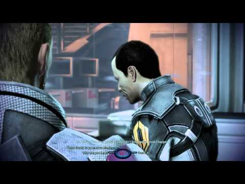 ME3 - Meeting Gavin Archer After Destroying Geth And Leaving Him David In Overload