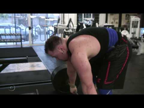 Chico's strongest man James Thomson profile
