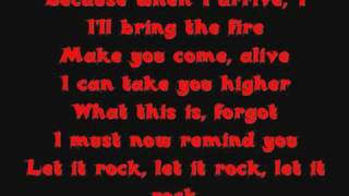 Let it rock [Lyrics]