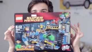 Обзор Lego Лего Супер Герои - 76018 - Лаборатория Халка. В продаже на TOY.RU(, 2015-07-06T08:09:43.000Z)
