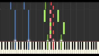 Yann Tiersen - Grønjørð [KEXP Version] (Synthesia Tutorial)
