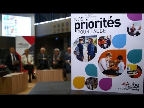 Nouvelle fenêtre : Le Conseil départemental de l'Aube dévoile ses « priorités pour l'Aube »