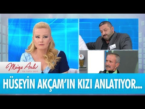 Hüseyin Akçam'ın kızı anlatıyor... - Müge Anlı İle Tatlı Sert 30 Mayıs 2018