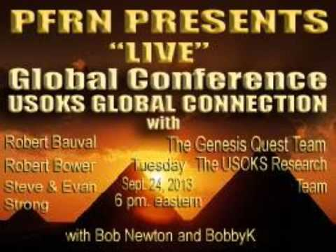 USOKS Global Connections with Robert Bauval  and The Strong's   9 23 13