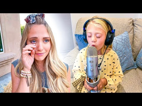 Everleigh Records Emotional Song For Her Mom Leaving Her In Tears...
