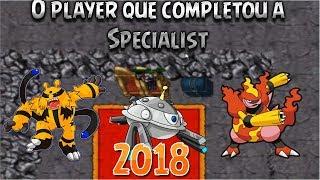 O player que fez a Quest Specialist em 2018 (Symphonics) - OT Pokemon