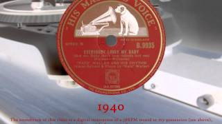 Fats Waller - Everybody Loves My Baby (78RPM) HQ