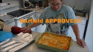 Garfield APPROVED!! Easy To Make Basic Homemade Lasagna Recipe