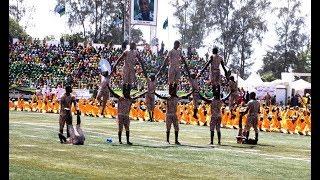 HII NI HATARI:Tazama Maajabu ya Watoto Hawa Katika Maadhimisho ya Mbio za Mwenge Zanzibar..