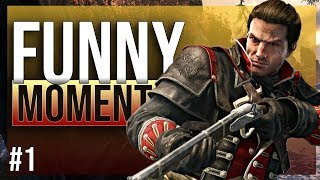 ASSASSIN'S CREED ROGUE - funny twitch moments |1|