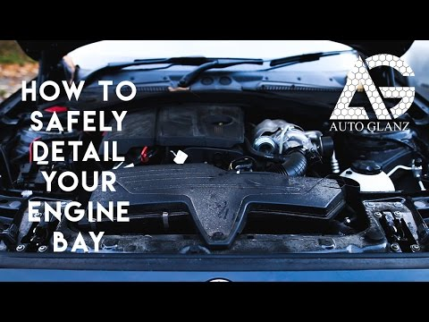 How to: Detail your engine bay for beginners. Engine bay detailing guide.