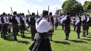 Police Service of Northern Ireland Pipe Band Cookstown 2013