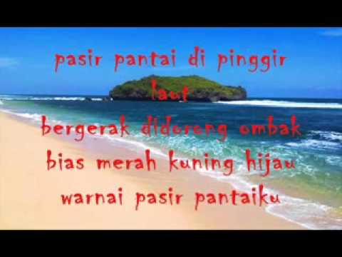 PASIR PANTAI Pasir Pantai With Lyrics