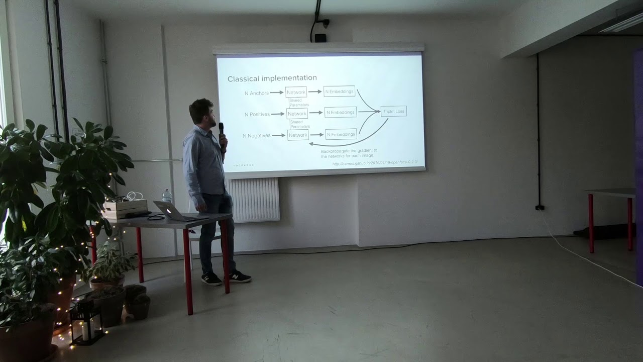 #14 PyData - Adam Bielski (Tooploox) - Siamese and triplet networks