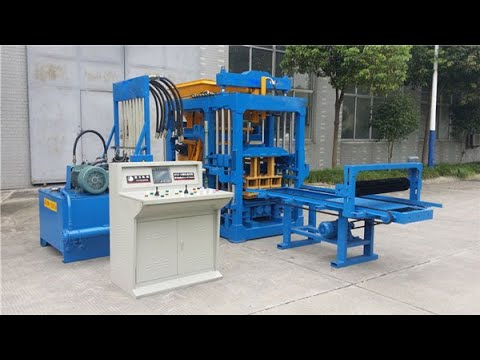 Aimix Concrete Block Making Machine Working Video In The Philippines