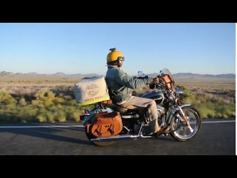 Cross Country Motorcycle Trip On Harley Davidson