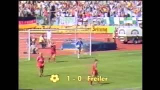 FC Homburg - FC Bayern München | Bundesliga Saison 1987/1988